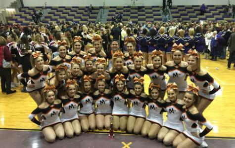 Cheerleaders prepare for exciting year of competitions