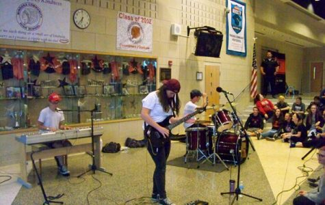 Nasagram performs at Battle of the Bands.  They won the night.