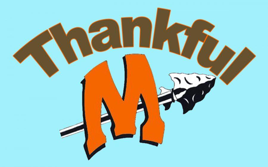 Minooka gives thanks
