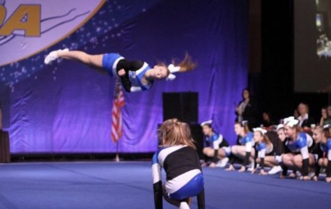 Bacza contributes to state cheer squad