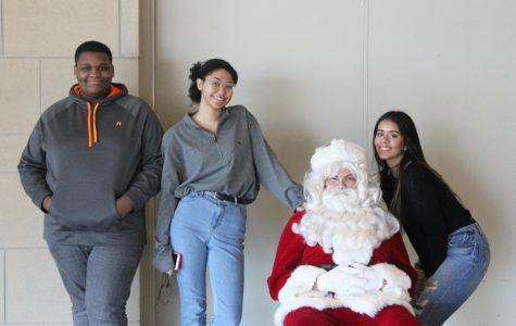 Santa visits MCHS