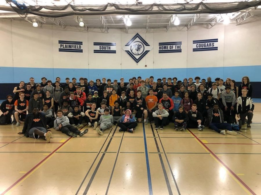 The+Minooka+boys+had+their+first+track+meet+of+the+indoor+season+at+Plainfield+South+with+Neuqua+Valley+on+Feb.+9.+No+team+score+was+kept.+
