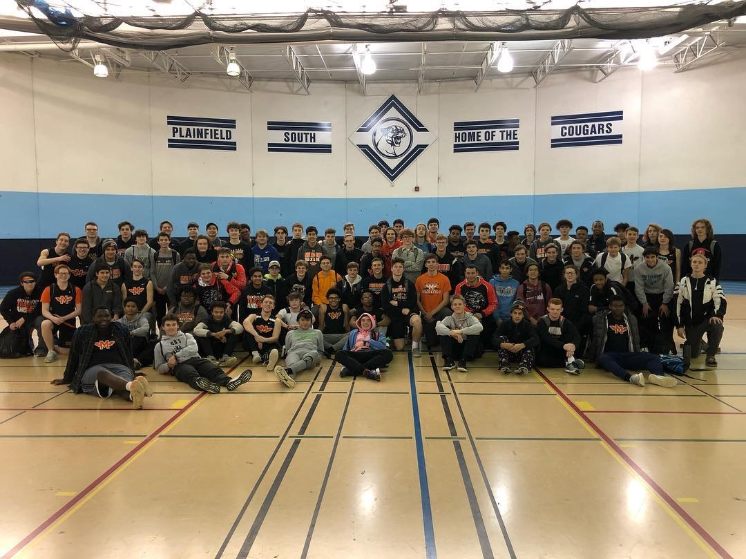 The Minooka boys had their first track meet of the indoor season at Plainfield South with Neuqua Valley on Feb. 9. No team score was kept.