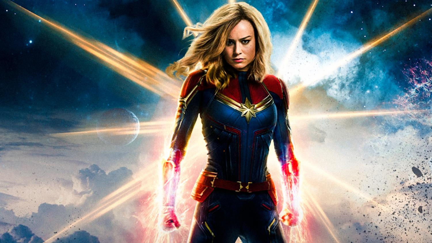 Captain Marvel arrives in theaters March 8.