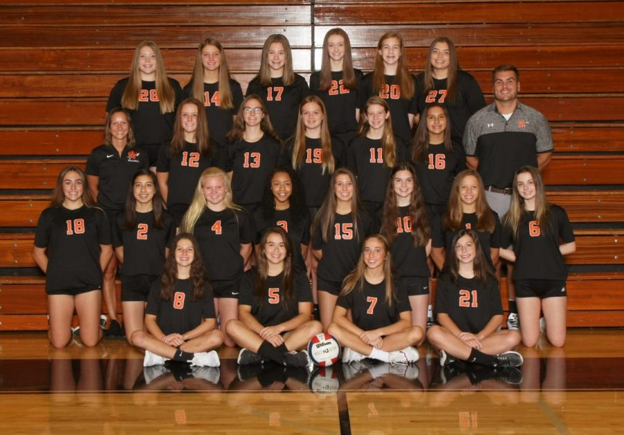 Strong finish for freshman girls volleyball team