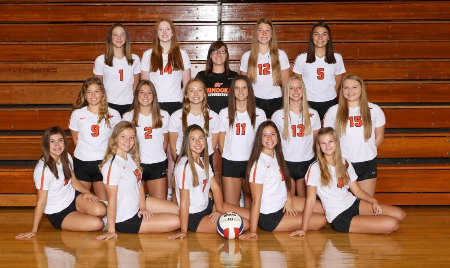 JV+girls+volleyball+finishes+with+30+wins