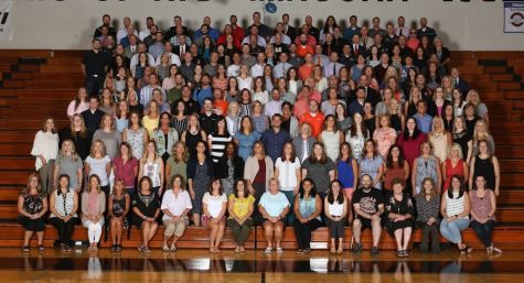 MCHS faculty and staff pose for a photo in August 2019.