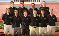 The boys golf team advanced to sectionals with a second-place finish at regionals.