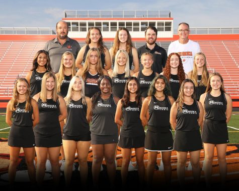 The girls varsity tennis team has started the year with a 5-1 record in head-to-head play.