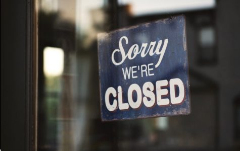 Many stores closed completely because of the coronavirus pandemic with some staying open with few customers.  Many workers incomes have been affected.