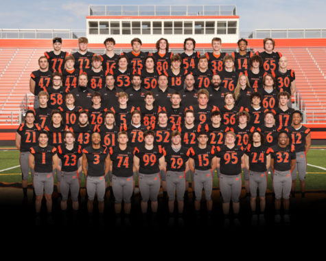 The varsity football team plays a six-game schedule this spring.